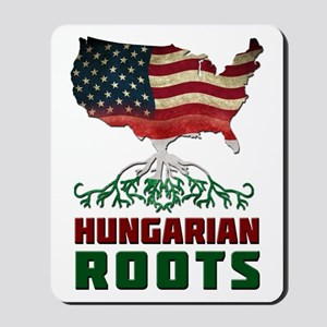 American Hungarian Roots Mousepad